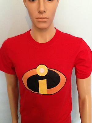 THE INCREDIBLES Super Hero T-Shirt Men Ladys adult size