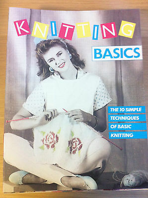 Marshall-Knitting Guide-Special Techniques-Vintage-Magazine-Basic-Stitch-How TO