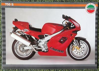 Laverda 750 S Motorcycle Sales Brochure C 1997