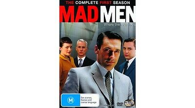 """mad Men...the Complete First Season"" 3Dvd Set [New/sealed]"