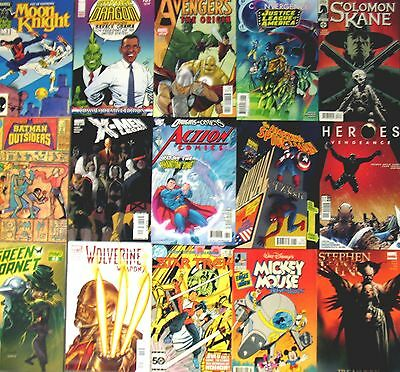WHOLESALE LOT 25 COMIC BOOKS Marvel DC Image IDW Dark Horse Boom + More! Bulk