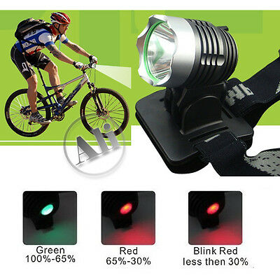 NEW 1600LM CREE XML XM-L T6 LED Bicycle Bike Head Light Lamp Free Shipping