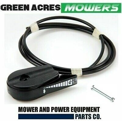 Lawn Mower Throttle Control Heavy Duty Plastic Coated Cable Victa Masport Rover