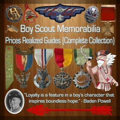 Boy Scout Prices Realized Guide - The Complete Collection - All 11 Books On 1 CD