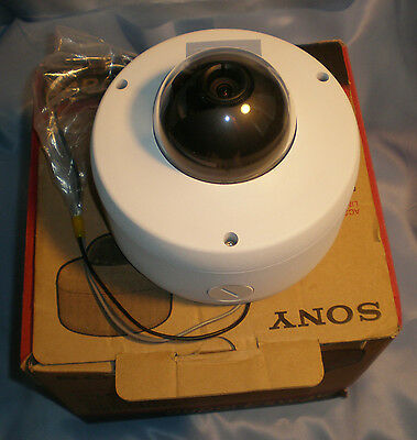 Sony SSC-CD77 Cam Rugged SuperExwave Dome 540TVL DAY/NIGHT COLOR VIDEO CAMERA