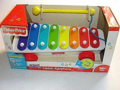 FISHER-PRICE BRILLIANT BASICS CLASSIC XYLOPHONE, NEW