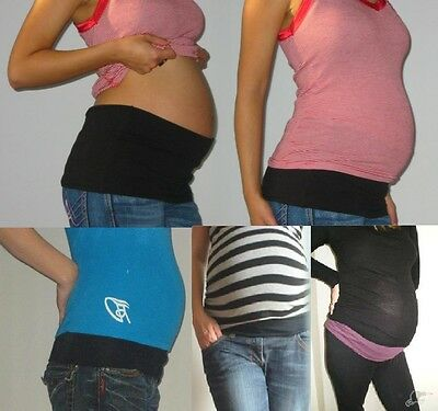 NEW Bump&Me (DOUBLE LAYER) BELLY BANDS *Pick Size & Colour **50% off RRP on Ebay