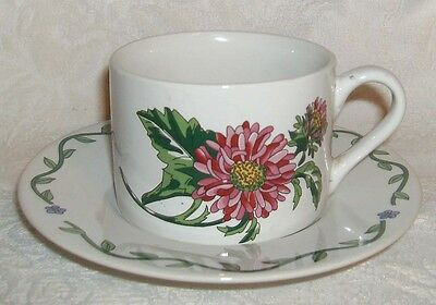 International Tableworks TERRACE BLOSSOMS Cup & Saucer