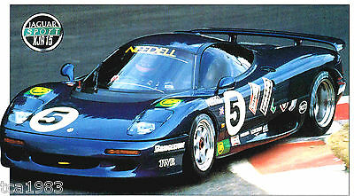 1991 JAGUAR XJR-15 / XJR15 Racing SPEC SHEET / Brochure