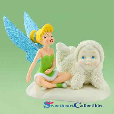 Department 56 Snowbabies Disney Giggles With Tinkerbell 2012
