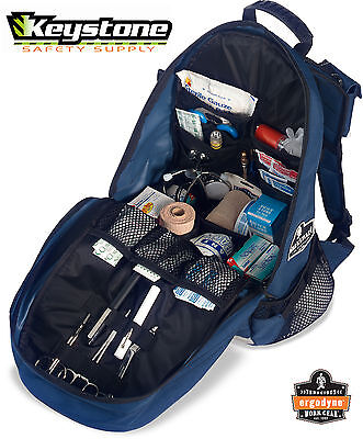 EMT Ergodyne Arsenal GB5243 Trauma Gear Bag/Back Pack  Blue  Arsenal 13487