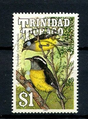 Trinidad & Tobago 1990 SG#791 $1 Birds USed #A25719