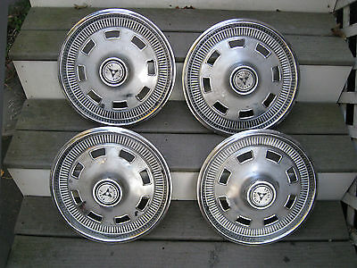 1967 CHARGER DART HUBCAPS WHEEL COVERS OEM FACTORY MOPAR Set of 4