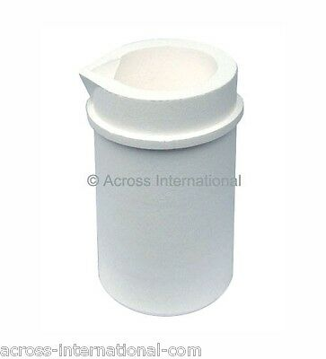 400ml SiO2 Silica Crucible for Metal Casting Induction Melting
