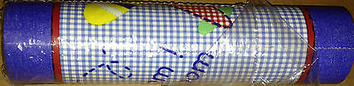 Bedtime Originals Zoom WALL BORDER cars trains blue red green yellow lambs ivy