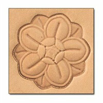 Rosette 3D Stamp 8657-00 by Tandy Leather