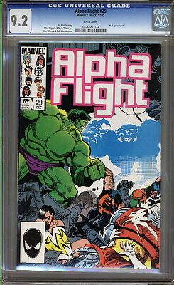 Alpha Flight #29 CGC 9.2 NM- Universal