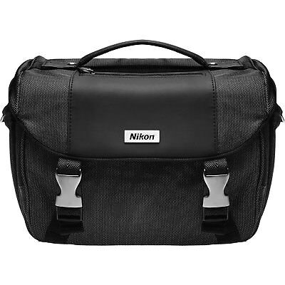 Nikon Digital SLR Camera Case Gadget Bag W/Dividers NEW
