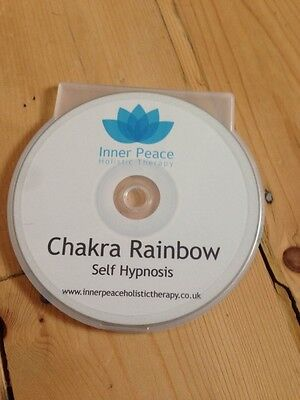 CHAKRA BALANCE Hypnotherapy CD, hypnosis, relaxation, meditation, HIGH QUALITY!