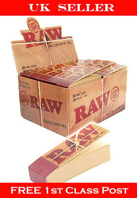 Raw Natural Rolling Roach Card Filter Tips  Perfect Gift
