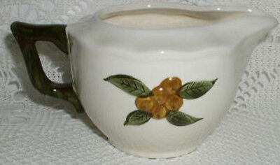Stangl Pottery Sculptured Fruit Hand Painted Creamer MINT CONDTION