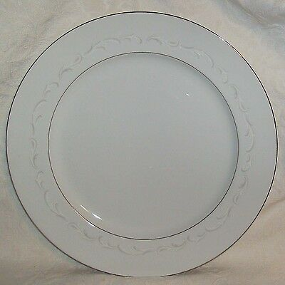 Fine China of Japan LAURA 3728 Round Serving Platter Chop Plate