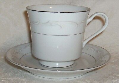 Fine China of Japan LAURA 3728 Cup & Saucer Set (s)