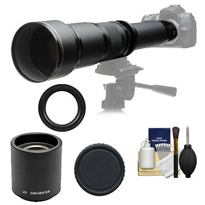 650-2600mm Lens for Canon Rebel XS T1i T2i T3 T3i T4i Digital SLR Camera