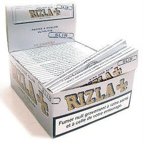 20 Booklets Rizla Silver King Size Slim Rolling Papers Cheapest On Ebay