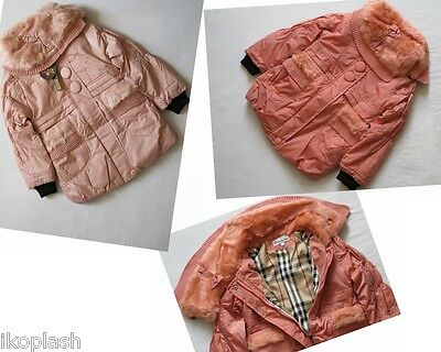 Snow Boutique Design Girls Coat Winter Fall Light Color Size 6-7-8-09-Ten Years