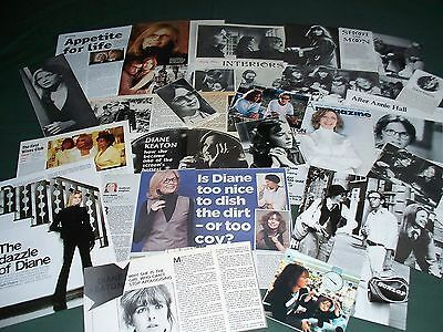 Diane Keaton -  Film Star - Clippings - Cuttings Pack