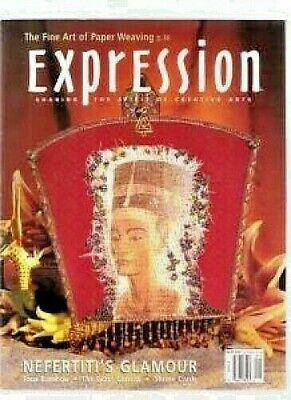 Expression Craft Paper Weaving Magazine Book Back Issue January February 2003
