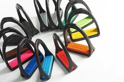 Compositi Premium Profile Stirrups 686 Adult & Children Variety Colours Polymer