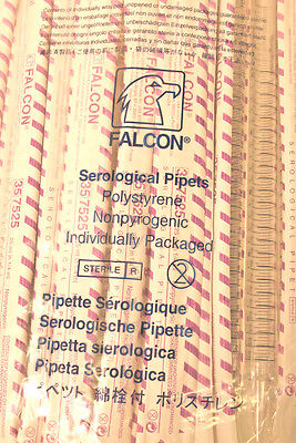 BD Falcon 357525-25.0 ml Polystyrene Pipets - Sterile Individually Wrapped