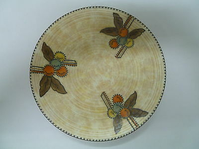 Vintage Charlotte Rhead Circular Fruits Pattern Wall Hanging Plate ....