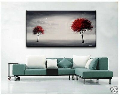 Modern Abstract Huge Canvas Wall Oil Painting-TREE (no frame)