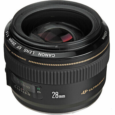 Canon EF EOS 28mm f/1.8 F1.8 USM Wide Angle Lens NEW