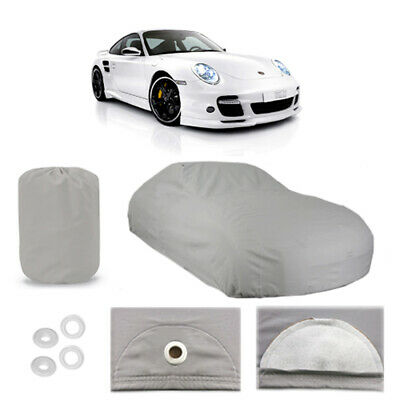 Porsche 911 6 Layer Car Cover Fitted In Out door Water Proof Rain Snow Sun Dust