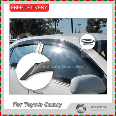 Premium Weather Shields Weathershields Window Visors for Toyota Camry 06-11