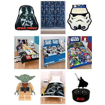 Star Wars Bedding & Bedroom Accessories - New - Official