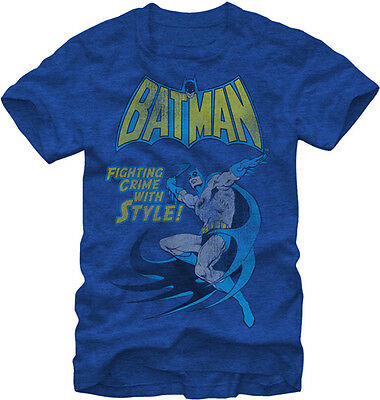 BATMAN - Fighting Crime With Style T-shirt - NEW - XLARGE ONLY
