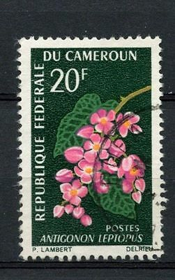 Cameroun 1966 SG#426 20f Flowers Used #A27012