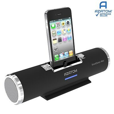 AZATOM StreetDance mini iPod iPhone Touch Portable Docking Dock Station Speaker