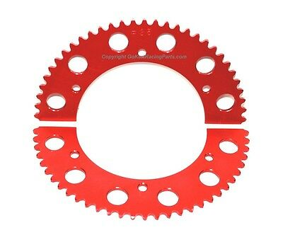 35 Sprocket Go Kart Racing 74 Teeth #35 Chain Axle Sprocket Hub Aluminum Cart