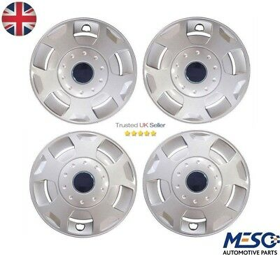"""4 of 15"""" inch Wheel Trim Trims / Hub Caps Cover Covers FORD Transit 2000-2014"""