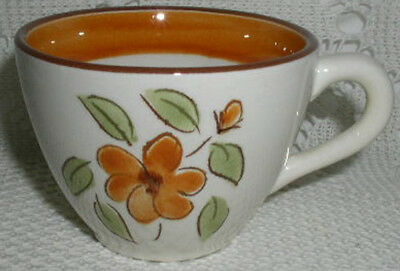Stangl Pottery Bittersweet Coffee Tea Cup cups Mint condition