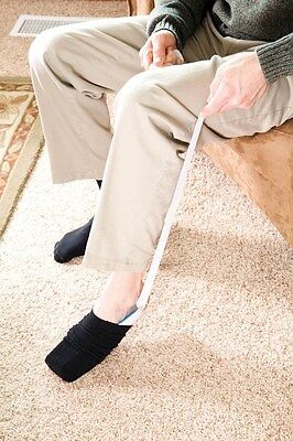 Carex Sock Aid Helps Put Socks Recovering Surgery Stocking Support Hip Knee Back