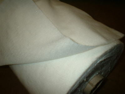 NATURAL FUSIBLE WOVEN INTERFACING (IRON ON) 90CM WIDE stayflex