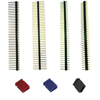 40Pins PCB Straight/Angled Head/Header Single Row  Solder/Strip/Jumper Connector