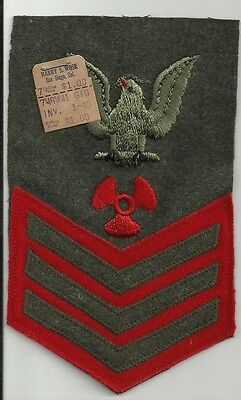PO1 Machinist's Mate Navy Marine Corps WWII Patch